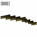 TE101 - 4Ground Building Kits - Stone Wall Sections – Short