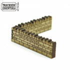 TE104 - 4Ground Building Kits - Stone Wall Sections – Corner
