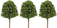 Hornby Model Railway Beech Tree Medium Dark Green pack of 3 - R8057