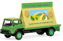Model Railway Shop - Hornby Skaleautos - Fine Foods Super Market Advertising Lorry R7016