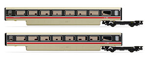 R40011A - Hornby BR, Class 370 Advanced Passenger Train 2-car TS Coach Pack, 48201 + 48202 - Era 7