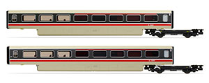 R40012A - Hornby BR, Class 370 Advanced Passenger Train 2-car TRBS Coach Pack, 48401 + 48402 - Era 7