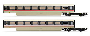 R40013 - Hornby BR, Class 370 Advanced Passenger Train 2-car TU Coach Pack, 48303 + 48304 - Era 7