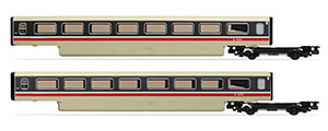 R40013A - Hornby BR, Class 370 Advanced Passenger Train 2-car TU Coach Pack, 48301 + 48302 - Era 7