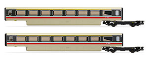 R40014A - Hornby BR, Class 370 Advanced Passenger Train 2-car TF Coach Pack, 48501 + 48502 - Era 7