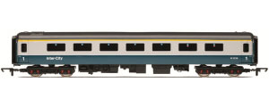 Hornby BR Blue / Grey Intercity Mk2d Open First Class Coach - R4215C