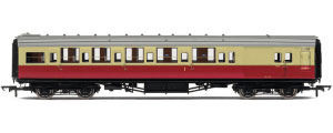 Hornby Model Railway Coaches - R4348B BR (Ex SR) Maunsell Brake Composite Coach (High Window)