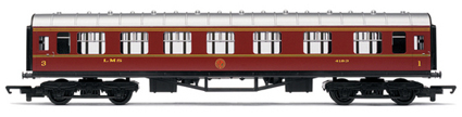 Hornby Model Railway RailRoad Range - LMS Composite Coach - R4388