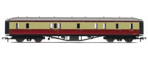 Hornby Model Railway Trains - R4404 BR Hawksworth (Pre 1953) Gangway Passenger Brake Coach