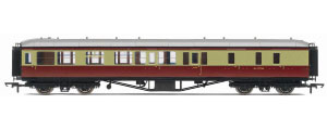 Hornby Model Railway Trains - R4406 BR Hawksworth (Pre 1953) Brake 3rd Class Coach