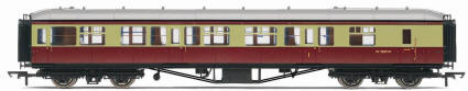 Hornby Model Railway Trains - R4408 BR Hawksworth (Pre 1953) 1st / 3rd Brake Coach