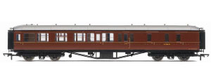 Hornby Model Railway Trains - R4411 BR Hawksworth (Post 1953) Brake 3rd Class Coach