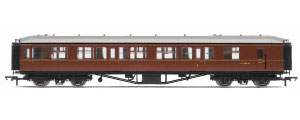 Hornby Model Railway Trains - R4413 BR Hawksworth (Post 1953) 1st 3rd Brake Coach
