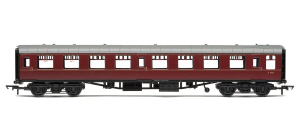 Hornby BR Mk1 Tourist Second Open Coach (Maroon) - R4621 / R4621A