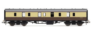 Hornby BR Mk1 Parcels Coach (Chocolate & Cream) - R4642 / R4642A