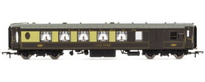 Hornby K-Type Pullman Third Class Parlour Brake Car 'Car No.80' - R4695