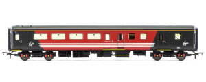 Hornby Virgin Mk2E Brake Standard Open Coach with lights - R4704
