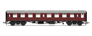 R4786 - Hornby BR Mk1 Coach Second Open 'E4811', Maroon (no crest)