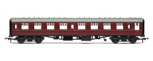 R4787 - Hornby BR Mk1 Coach Tourist Second Open 'E4656', Maroon (no crest)