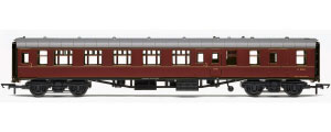 Hornby BR Mk1 Brake Second Open Coach (Maroon) - R4788