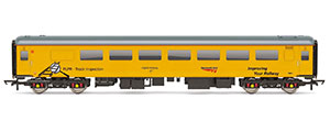 R4993 - Hornby Network Rail, ex-BR Mk2F TSO Brake Plain Line Pattern Recognition Vehicle PLPR2, 5981 - Era 11