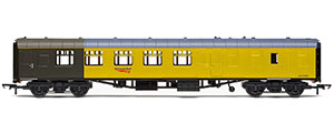 R4994 - Hornby Network Rail, Ex-BR Mk1 Structure Gauging Train Driving & Instrumentation Vehicle, 975081 - Era 11