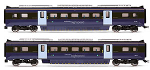 R4999 - Hornby South Eastern, Class 395 Highspeed Train 2-car Coach Pack, MSO 39134 and MSO 39135 - Era 11