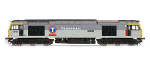 Hornby Transrail Co-Co Diesel Electric Class 60 with DCC Sound - R3267XS