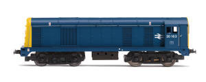 Hornby RailRoad BR Blue '20163' Class 20 with TTS Sound - R3394TTS