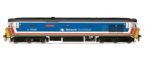 Hornby Network South East (NSE) Co-Co Diesel Electric 'Indomitable' Class 50 - R3471