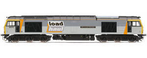 Hornby - Loadhaul, Class 60, Co-Co, 60070 'John Loundon McAdam' - Era 9 - R3657