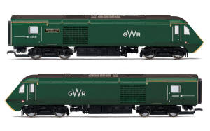 R3685 - Hornby - GWR, Class 43 HST, 'Meningitis Trust Support for Life' Train Pack - Era 11