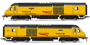 R3769 - Hornby Network Rail, Class 43 HST, Power Cars 43013 'Mark Carne CBE' and 43014 'The Railway Observer' - Era 11