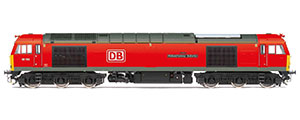 R3884 - Hornby DB Cargo UK, Class 60, Co-Co, 60100 'Midland Railway - Butterley' - Era 11