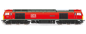 R3885 - Hornby DB Cargo UK, Class 60, Co-Co, 60062 'Stainless Pioneer' - Era 11