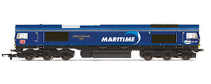 R3887 - Hornby DB Cargo UK, Class 66, Co-Co, 66047 'Maritime Intermodal Two' - Era 11