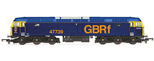 R3906 - Hornby RailRoad GBRf, Class 47/7, Co-Co, 47739 - Era 11