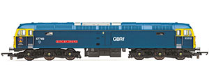 R3907 - Hornby RailRoad GBRf, Class 47/7, Co-Co, 47749 'City of Truro' - Era 11