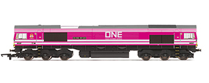 R3923 - Hornby Ocean Network Express, Class 66, Co-Co 66587 'As One. We Can'