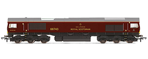 R3950 - Hornby GBRf, Class 66, Co-Co, 66743 Belmond Royal Scotsman