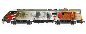 R3892 - Hornby VTEC, Class 91, Bo-Bo, 91111 'For the Fallen' - Era 10