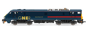 R3893 - Hornby GNER, Class 91, Bo-Bo, 91117 'Cancer Research UK' - Era 10