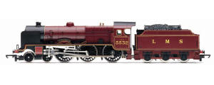 Hornby Model Railway Trains - R2936 LMS 'Illustrious' Patriot Class