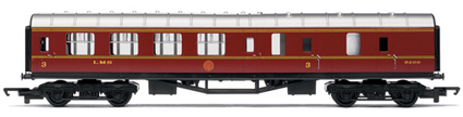 Hornby Model Railway RailRoad Range - LMS Brake Coach - R4389