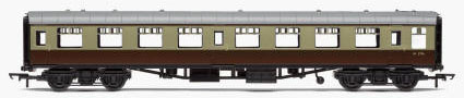 Hornby RailRoad BR Mk1 Tourist Second Open Coach (Chocolate & Cream) - R4630