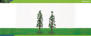 Model Railway Shop - Hornby Scalescenics - Redwood Trees (100mm) - R8917