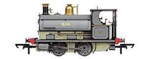 R3825 - Hornby Peckett 614, Centenary Year Limited Edition - 2016