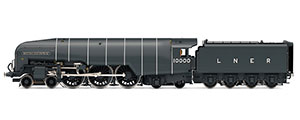 R3841 - Hornby LNER, Class W1 'Hush Hush', 4-6-4, 10000 'British Enterprise' - Era 3