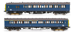 Hornby BR 2-BIL 2 Car Electric Multiple Unit Train Pack - NRM - R3259