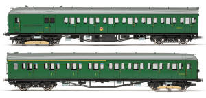 Hornby BR 2-HAL 2 Car Electric Multiple Unit Train Pack - R3290